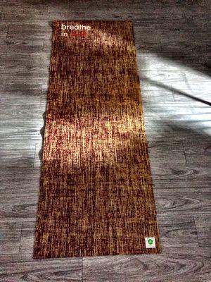 Breathe in love yoga mat for Sale in Dallas, TX