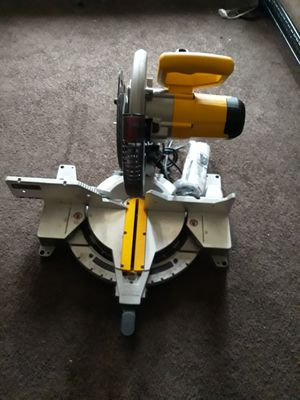 Brand new Dewalt miter table saw for Sale in Suitland-Silver Hill, MD
