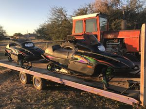 Snowmobiles for sale x4 with trailer for Sale in Queen Creek, AZ
