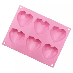 Diamond 3D Heart Shape Silicone Mold- Great For Hot Cocoa Bombs for Sale in Portland, OR