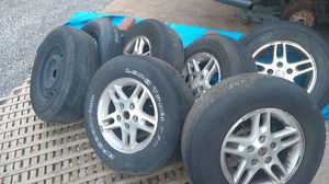 Jeep wheels and tires for Sale in House Springs, MO