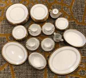 Noritake Elysee Set of Dishes 40 pieces for Sale in Herndon, VA