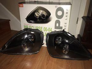 Depo Mitsubishi Eclipse Black Headlights for Sale in Nashville, TN