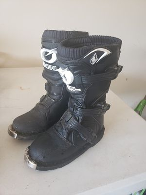 Dirt bike Rider boots Youth size 13 for Sale in Houston, TX