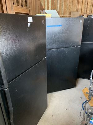 Kenmore black appliances refrigerator washer dryer dishwasher microhood REPAIR needed for Sale in Puyallup, WA