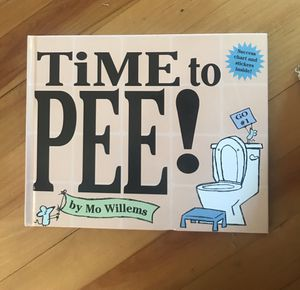 Potty training book by Mo Willems for Sale in Westborough, MA