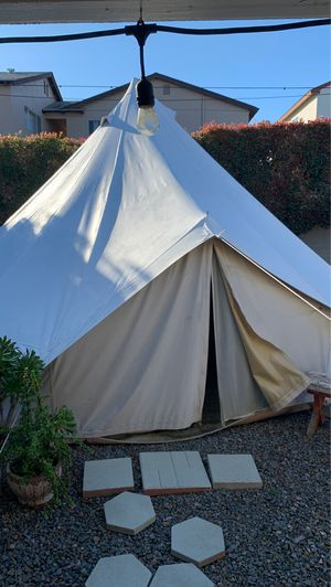 Painted Canvas Tent for Sale in San Diego, CA