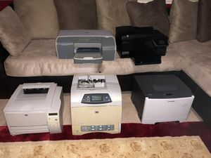 Five working printers, $90 for all for Sale in Austin, TX