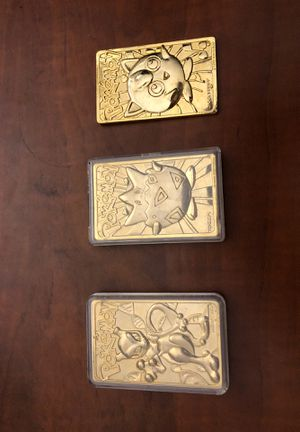 Gold Pokémon cards for Sale in Fresno, CA