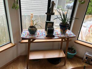 Mid Century West Elm Sofa Table / Console-Acorn for Sale in Edmonds, WA