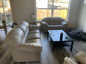 Leather Couch for Sale in Hillsboro, OR