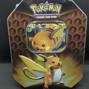 New! Pokemon Hidden Fates GX Tin Raichu for Sale in Hayward, CA