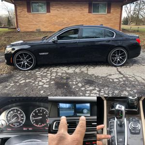 2009 BMW 750 👆 LI Sport package luxury title rebuilt miles 95000 super looking luxury drive sweet , sport package , leather seat , all seat heated se for Sale in Worthington, OH