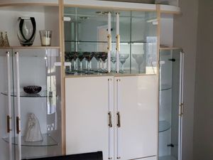 3 piece formica and glass wall unit for Sale in Buffalo Grove, IL