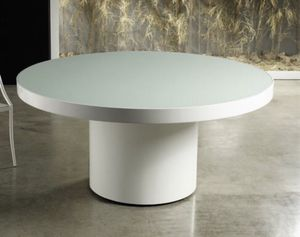Stunning White Round Table for Sale in New York, NY
