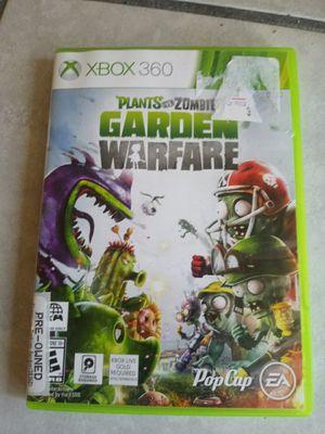 Xbox 360 plants versus zombies garden warfare game for Sale in Orlando, FL
