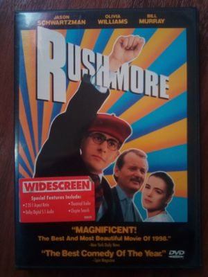 DVD Rushmore Wes Anderson for Sale in Rochester, NY