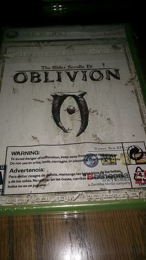 Elder Scrolls IV Oblivion Video Game for Xbox 360 Bethesda Software for Sale in Daly City, CA
