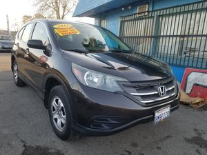2013 HONDA CRV LX AUTOMATIC TRANSMISSION. ZERO DOWNPAYMENT ON APPROVED CREDIT. for Sale in Modesto, CA