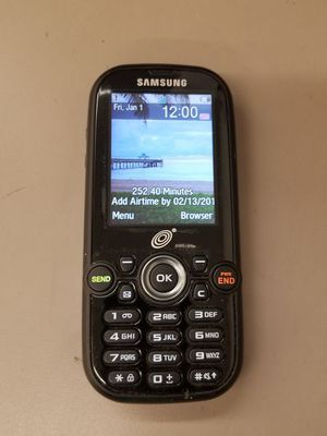 Samsung Tracfone Camera Slider Cellular Flip Phone SGH-T404G for Sale in Chattanooga, TN