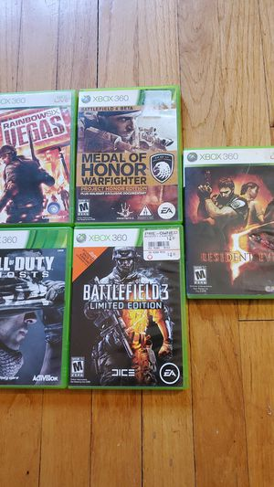 Xbox 360 games for Sale in North Bergen, NJ