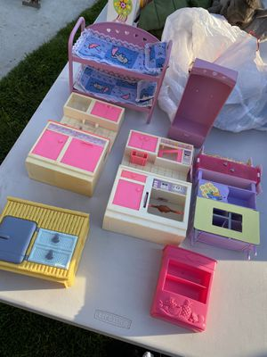All vintage Barbie accessories for $15 firm for Sale in Anaheim, CA