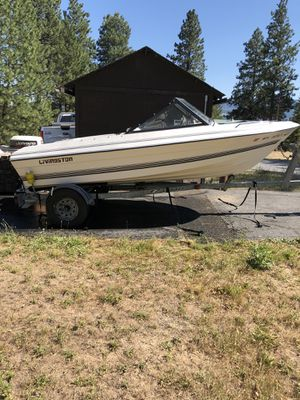 Livingston 16' fiberglass boat $4000 obo for Sale in Cle Elum, WA