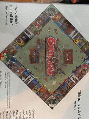 New sealed ghettopoly board game for Sale in Davie, FL