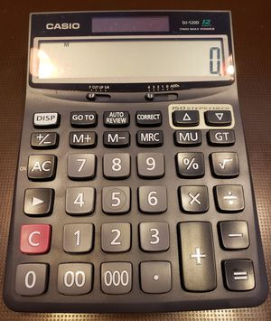 Casio DJ-120D Desktop Calculator for Sale in Washington, DC