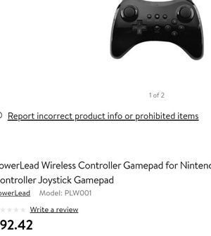 Wii U Wii Nintendo switch gamepad controller for Sale in La Mirada, CA