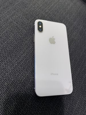 Iphone x 256 gb unlocked perfect condition some blemishes on stainless steel bumper from case but thats it kept in perfect condition for Sale in Tampa, FL