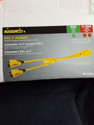 New Marinco EEL Y-Adapter $150 for Sale in Richmond, CA