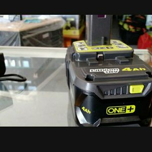 RYOBI 18V BATTERIE 4.0 AH..........PRECIO FIRME.........FIRM PRICE....... for Sale in Riverside, CA