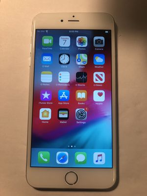 UNLOCKED Apple iphone 6 PLUS 16gb Silver Clean IMEI - Two available for Sale in Chicago, IL