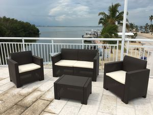 NEW Furniture / Patio furniture / outdoor furniture/ Muebles de patio /patio set /conversation set for Sale in Hialeah, FL