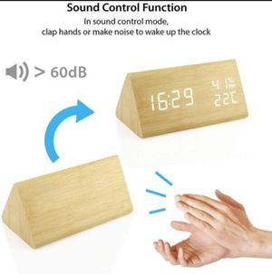 Wooden Alarm Clock for Sale in Fontana, CA