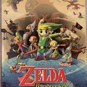 Legend Of Zelda The Wind water HD Official Guide Book Paperback-Original- Excellent Condition!! for Sale in Fort Myers, FL