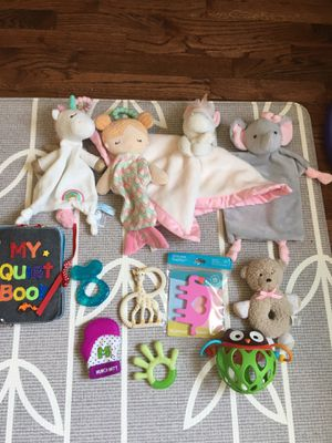 Infant/Baby Toys and Lovies for Sale in Seattle, WA