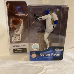 MLB MCFARLANE Action Figure Baseball Nolan Ryan Texas Rangers 2004 NIB for Sale in Takoma Park, MD