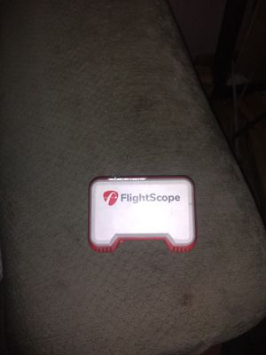 Flight scope golf game for Sale in Darrington, WA