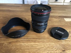 Canon 17-40 f4 L usm for Sale in San Diego, CA
