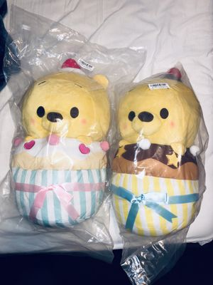 Disney Winnie The Pooh Cupcake plushies for Sale in West Covina, CA
