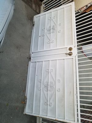 Iron security door for Sale in San Bernardino, CA