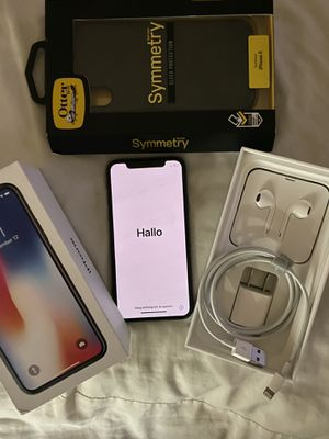 iPhone X 64 GB Unlocked for Sale in Phoenix, AZ