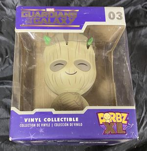 Groot Funko Dorbz XL 6 inch action figure Action Figure guardians of the galaxy collectible statue for Sale in Queens, NY