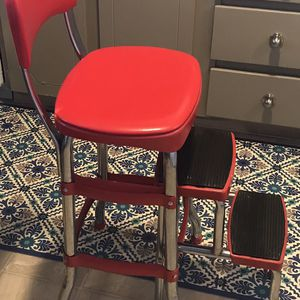 Kitchen Chair and Step Chair for Sale in Tacoma, WA