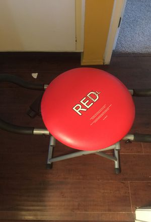 Red fitness XL Chair Excellent Condition for Sale in Anaheim, CA