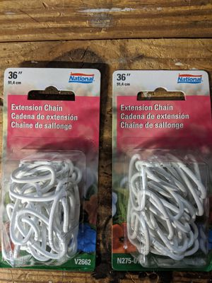 Pair of chains for hanging plants. Will break up the pair (half of posted price ea.) for Sale in Watertown, MA
