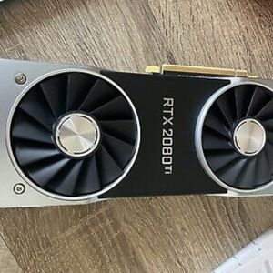 NVIDIA GeForce RTX 2080 TI Founders Edition for Sale in Atlanta, GA
