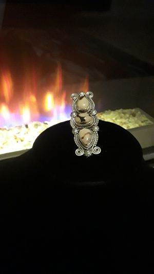 One-of-a-kind 925 stamped ring sz 7 for Sale in Riverview, FL